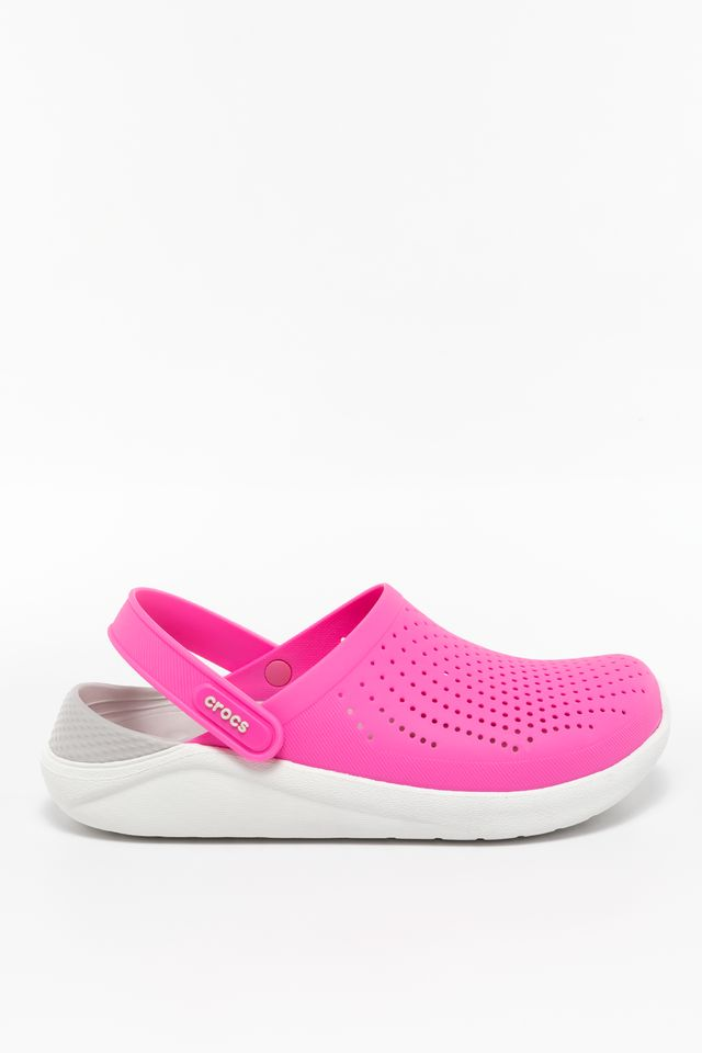 ELECTRIC PINK/ALMOST WHITE LITERIDE CLOG 6QV