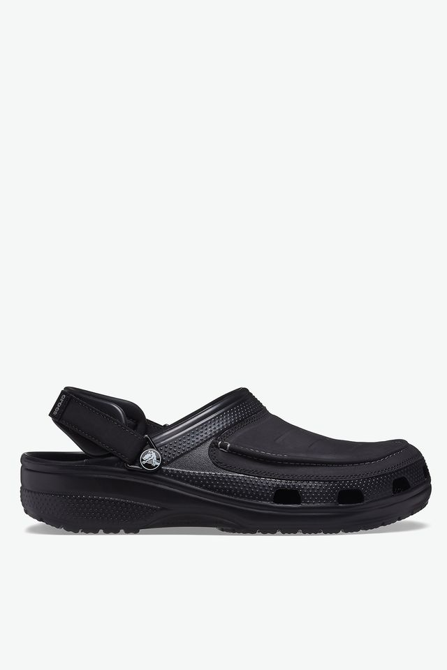 BLACK CROCSY YUKON VISTA II CLOG MEN 207142-001