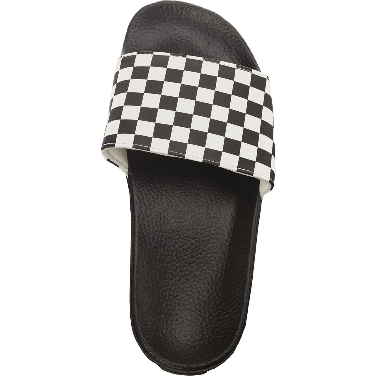Klapki Vans  <br/><small>MN SLIDE-ON IP9 CHECKERBOARD WHITE </small>  VN0004KIIP91