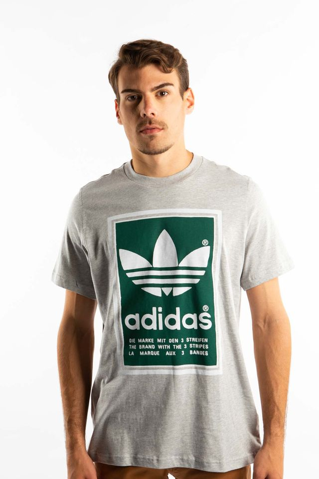 adidas FILLED LABEL TEE 939 GREY ED6939