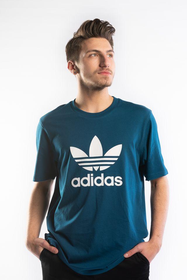 niesamowita cena sprawdzić eleganckie buty Koszulka adidas TREFOIL T-SHIRT 603 LEGEND MARINE - eastend.pl