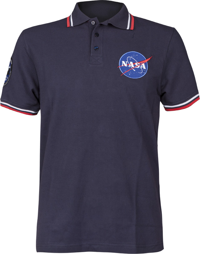 Alpha Industries NASA POLO 07 REPL. BLUE 186601-07