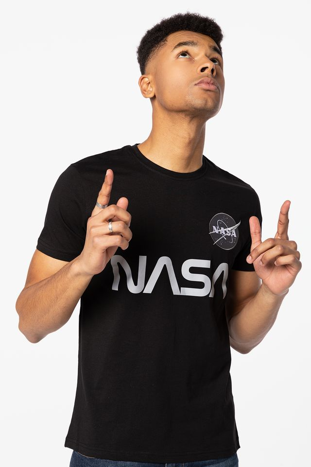 Black NASA Reflective T 178501-03