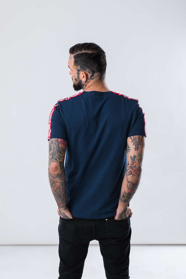 Koszulka Alpha Industries  <br/><small>RBF TAPE T 435 NEW NAVY </small>  196508-435