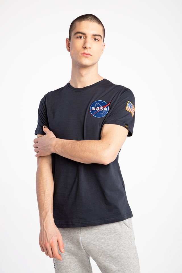 Alpha Industries SPACE SHUTTLE T 07 REPL. BLUE 176507-07