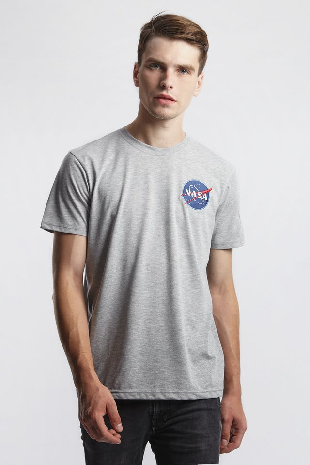 Alpha Industries SPACE SHUTTLE T 17 GREY HEATHER 176507-17