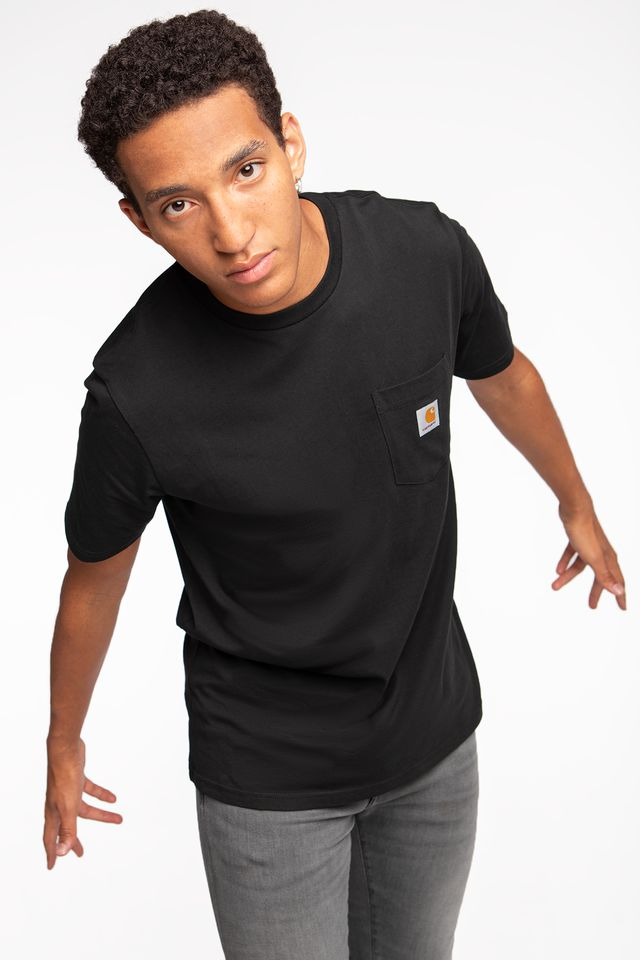Carhartt WIP S/S POCKET T-SHIRT 8900 BLACK I022091-890003