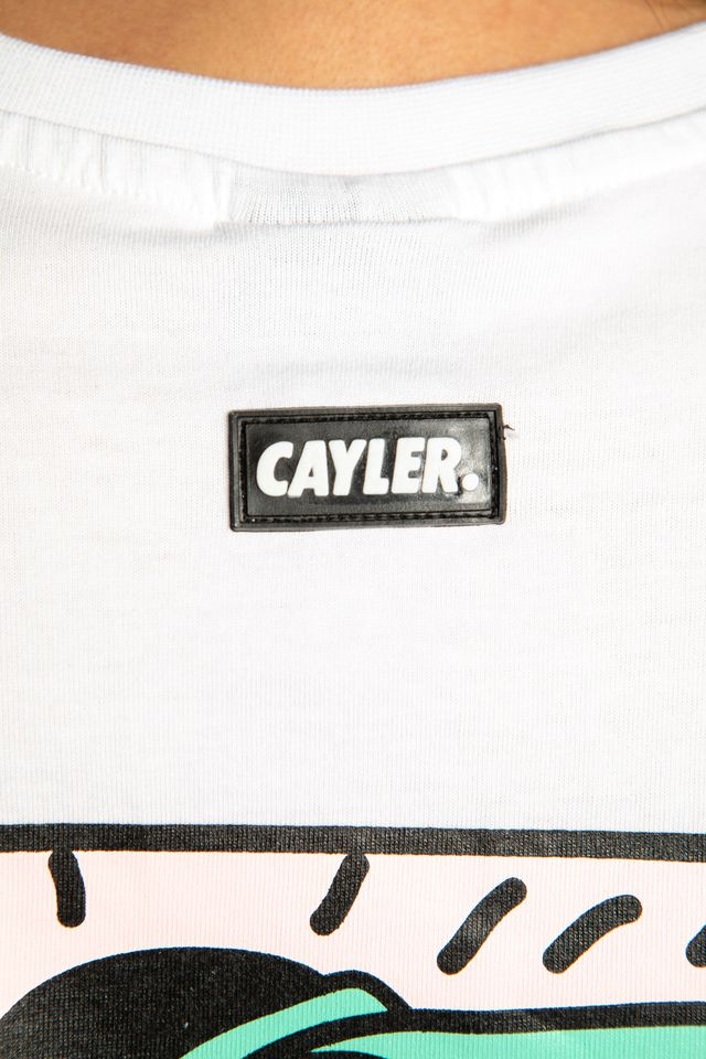 Koszulka Cayler & Sons  <br/><small>2PAC LINES TEE 01928 WHITE/MC </small>  CS2090-01928