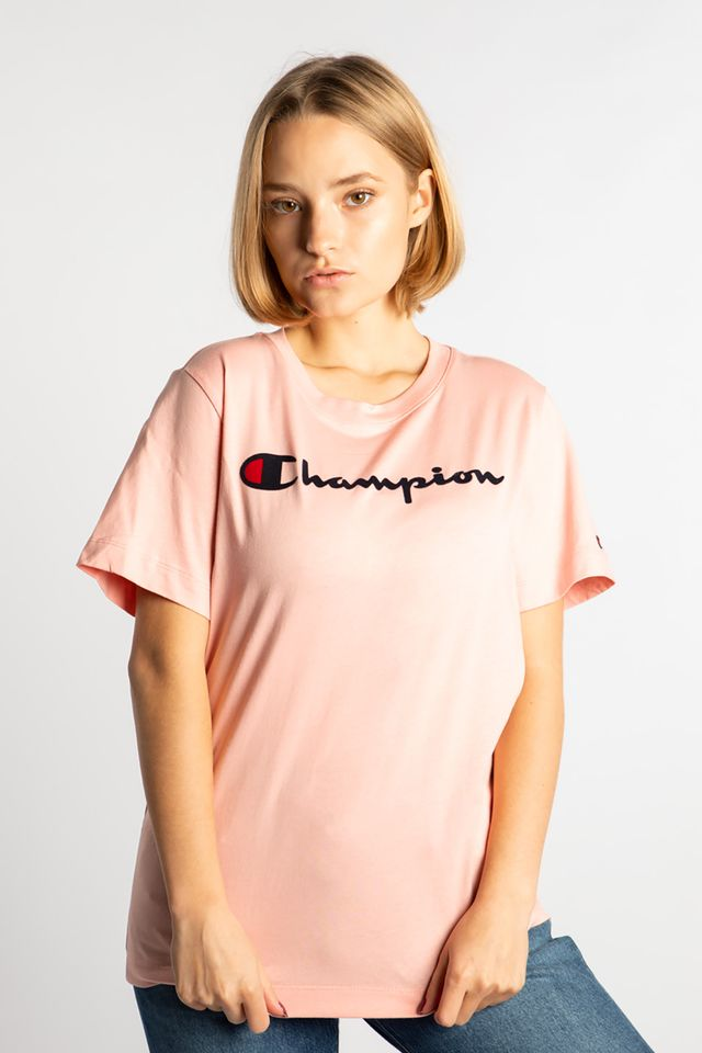 Champion CREWNECK T-SHIRT PS119 PINK 111971-PS119