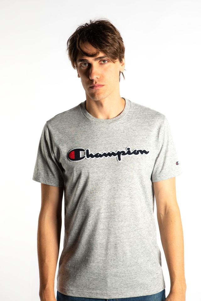 Champion CREWNECK T-SHIRT EM021 GREY 213521-EM021