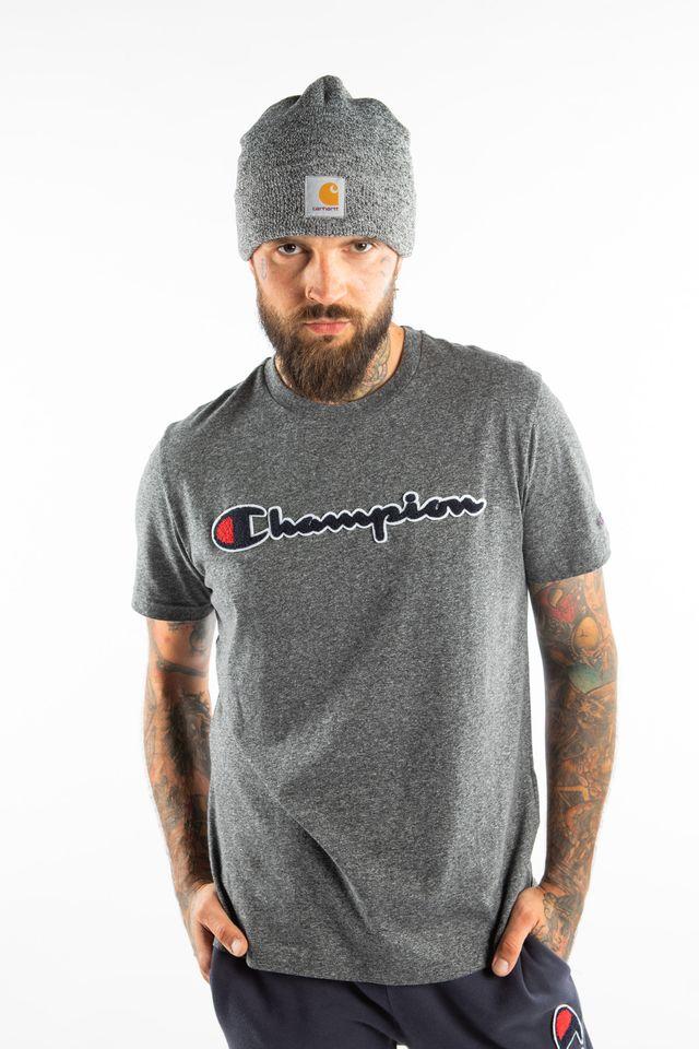 Champion CREWNECK T-SHIRT EM516 DARK GREY 213521-EM516
