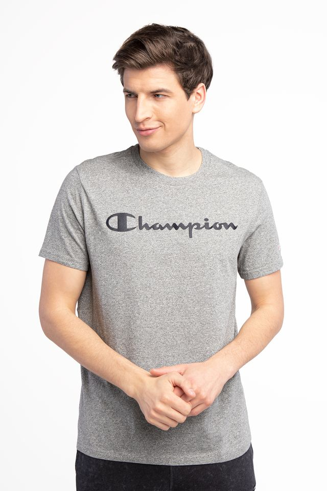 Champion CREWNECK T-SHIRT EM524 GREY 214142-EM524