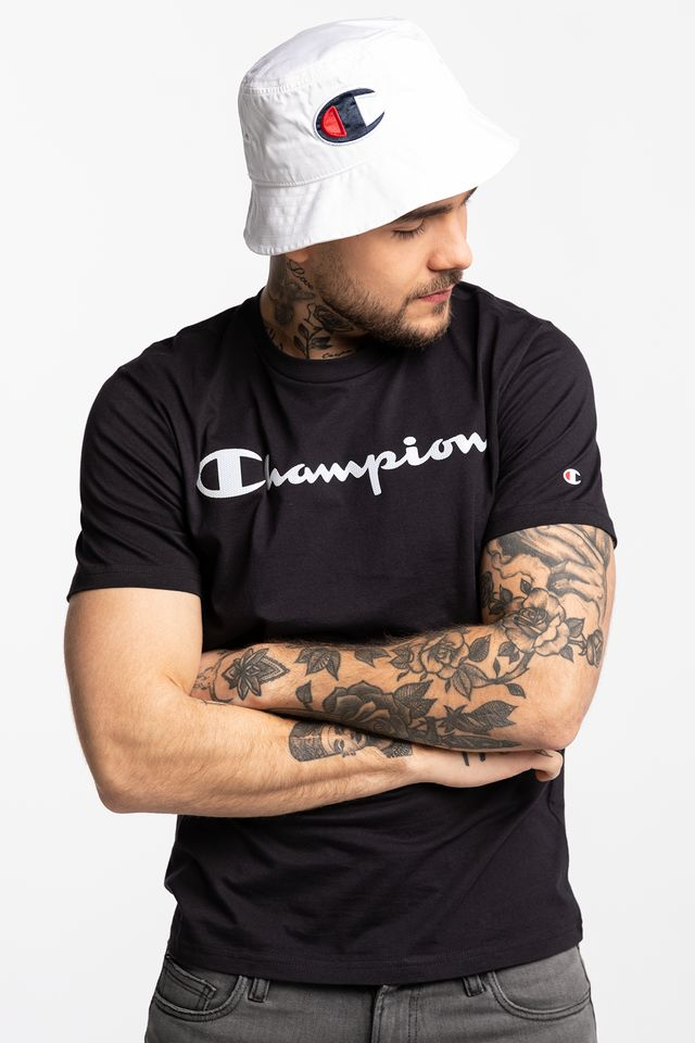 Champion CREWNECK T-SHIRT KK001 BLACK 214142-KK001