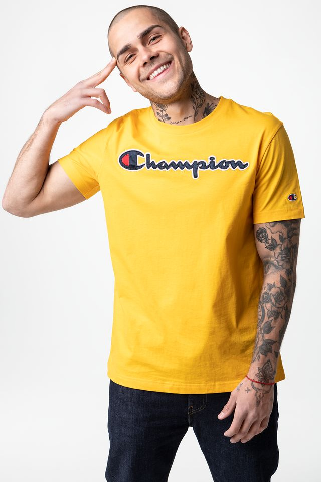 YELLOW CREWNECK T-SHIRT YS022
