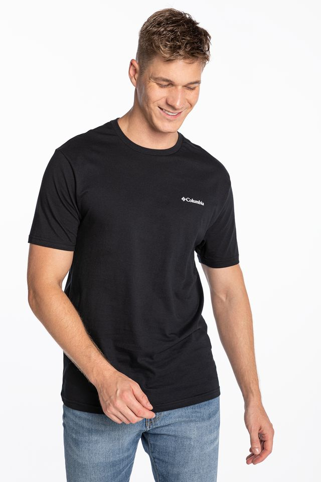 BLACK North Cascades Short Sleeve Tee 041