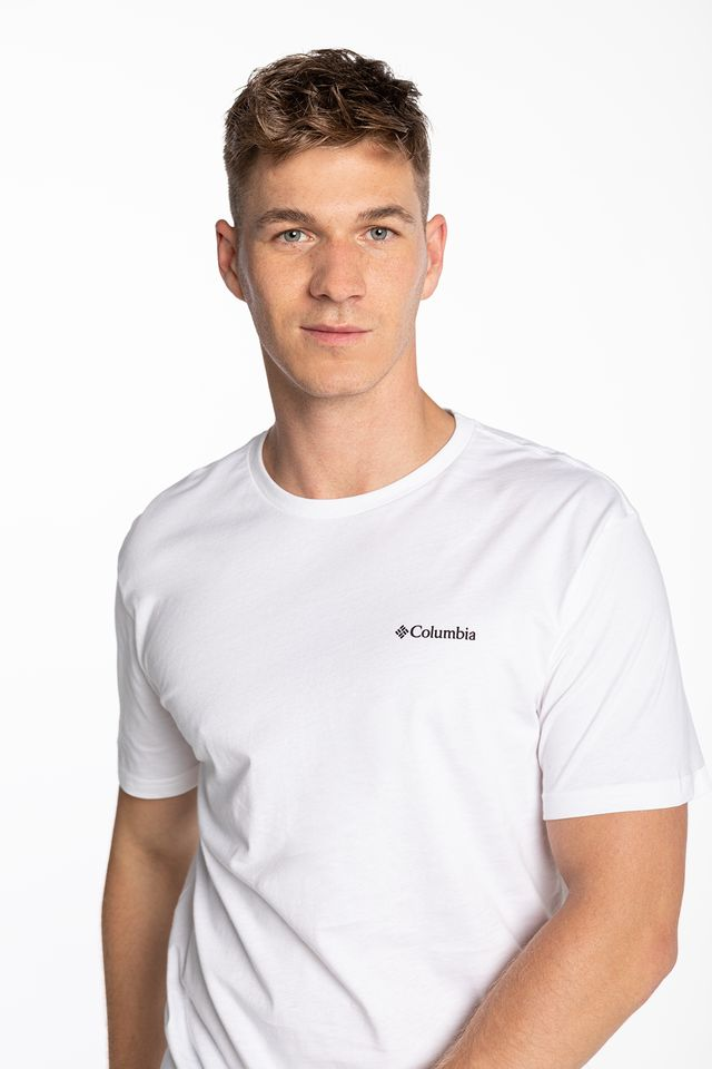 WHITE North Cascades Short Sleeve Tee 041