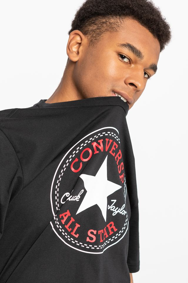 Converse CHUCK PATCH TEE A01 BLACK 10007887-A01