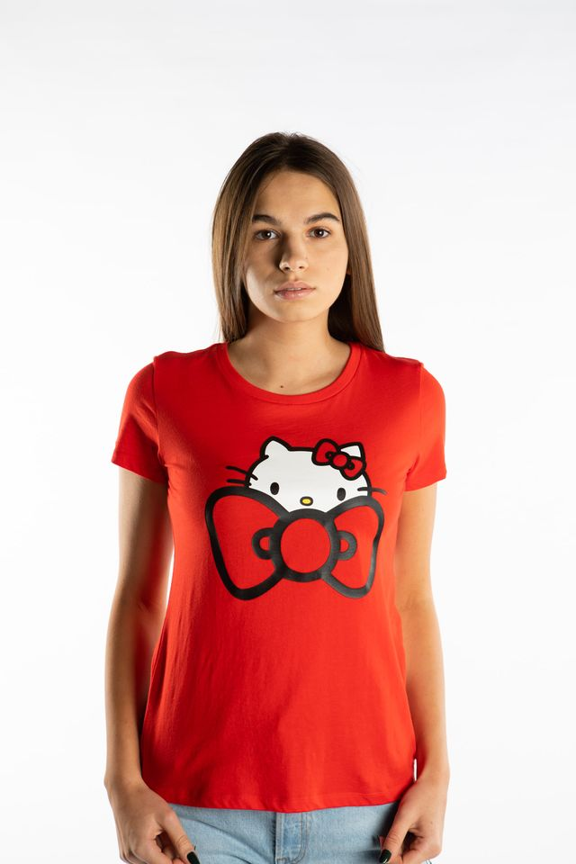 Converse HELLO KITTY TEE 633 RED 10008703-A01