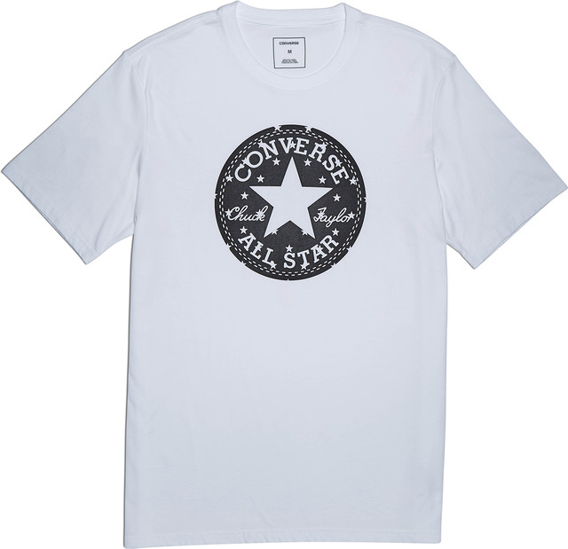Converse CHUCK PATCH STAR FILL TEE A01 WHITE 10006748-A01