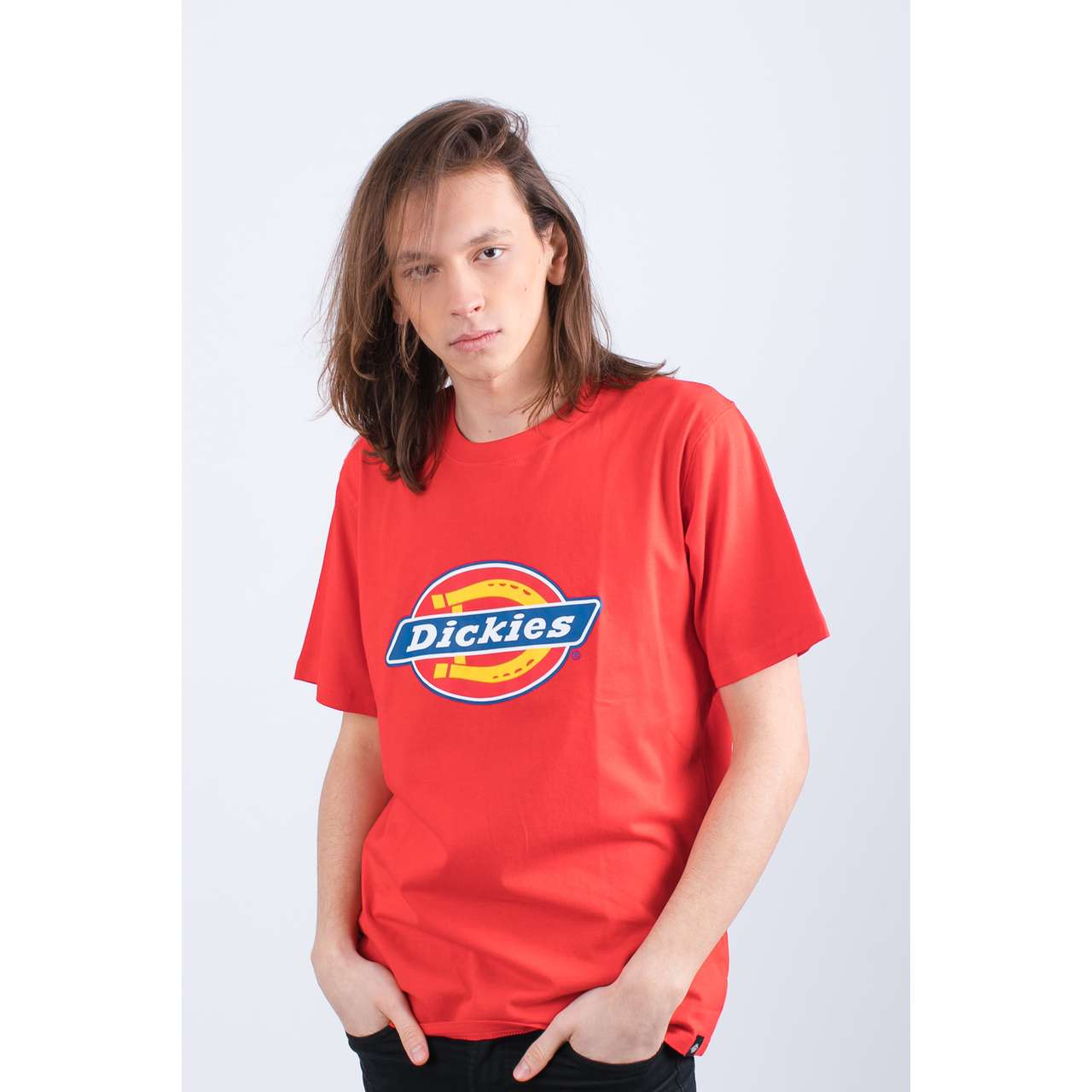 Koszulka Dickies  <br/><small>HORSESHOE TEE MEN 0600075 FIERY RED </small>