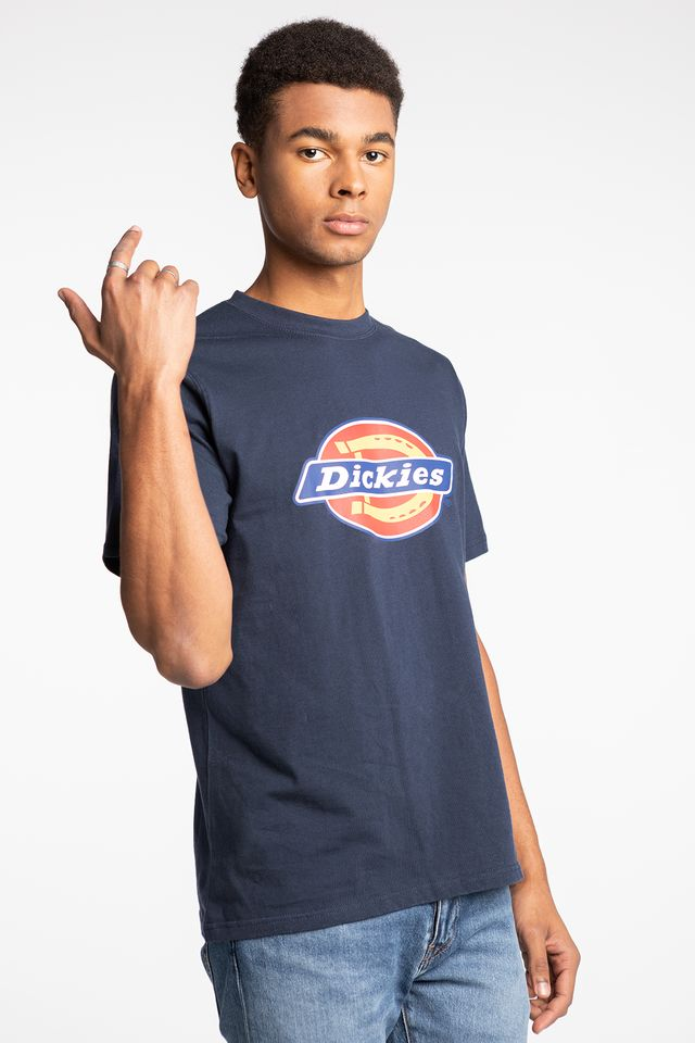 Dickies HORSESHOE TEE MEN 0600075 NAVY