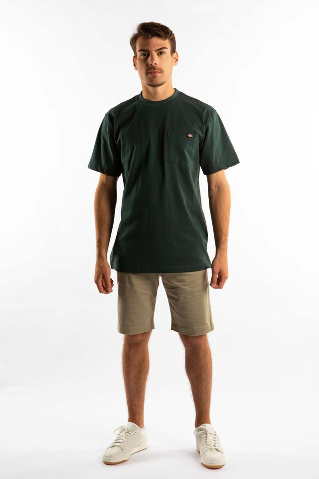 Koszulka Dickies  <br/><small>SHORT SLEEVE HEAVY WEIGHT 450 GH HUNTER GREEN </small>  WS450