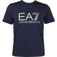 EA7 Emporio Armani TRAIN LOGO SERIES M TEE ST 1 NAVY BLUE 3ZPT33PJ20Z-1554