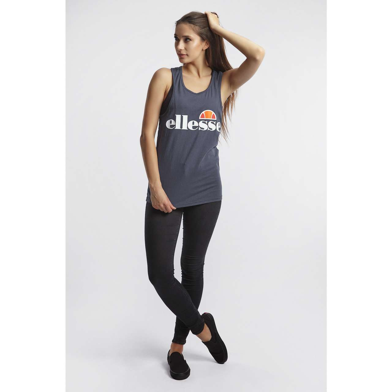 Koszulka Ellesse  <br/><small>ABIGAILLE VEST DRESS BLUES </small>  SGS04485