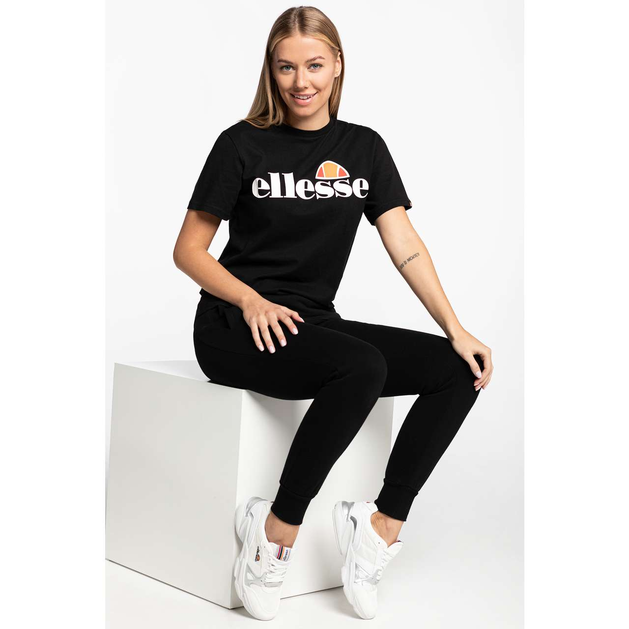 Koszulka Ellesse  <br/><small>ALBANY ANTHRACITE </small>  SGS03237 Anthracite
