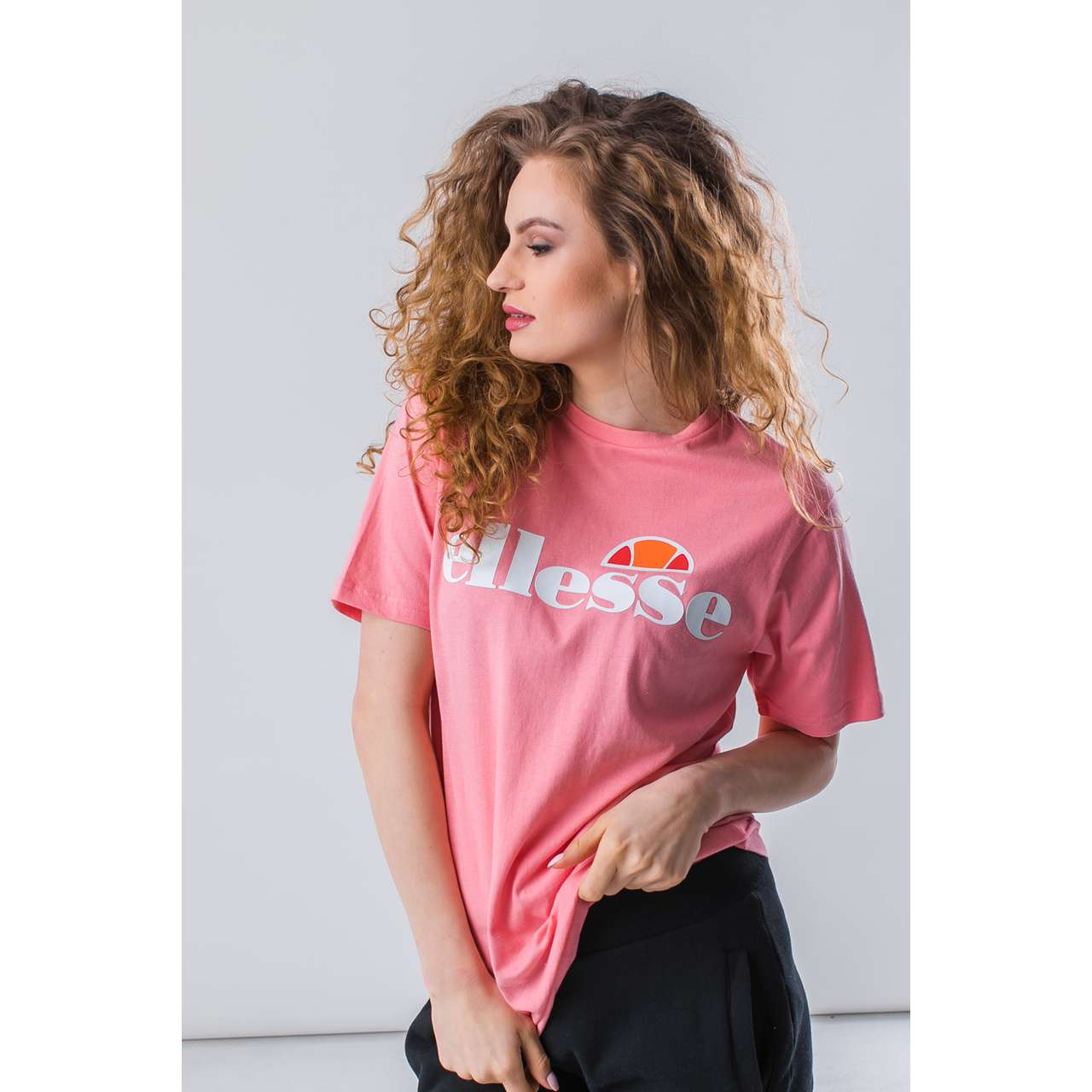 Koszulka Ellesse  <br/><small>ALBANY SOFT PINK </small>  SGS03237