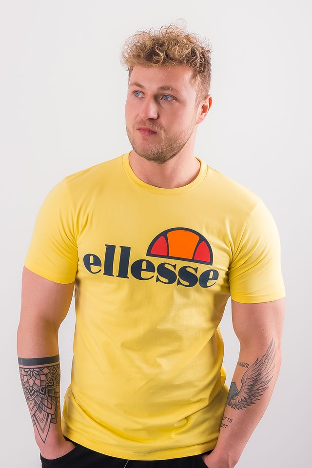 Ellesse PRADO TEE SHIRT SHA01147 LIGHT YELLOW