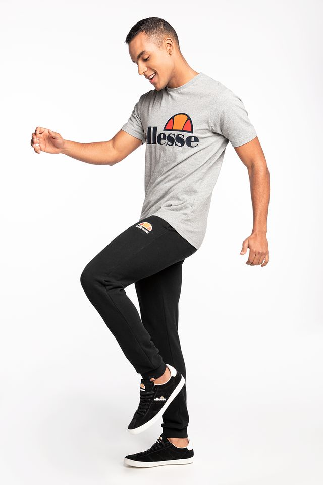 ATHLETIC GREY MARL Prado Tee SHS01147 Grey Marl