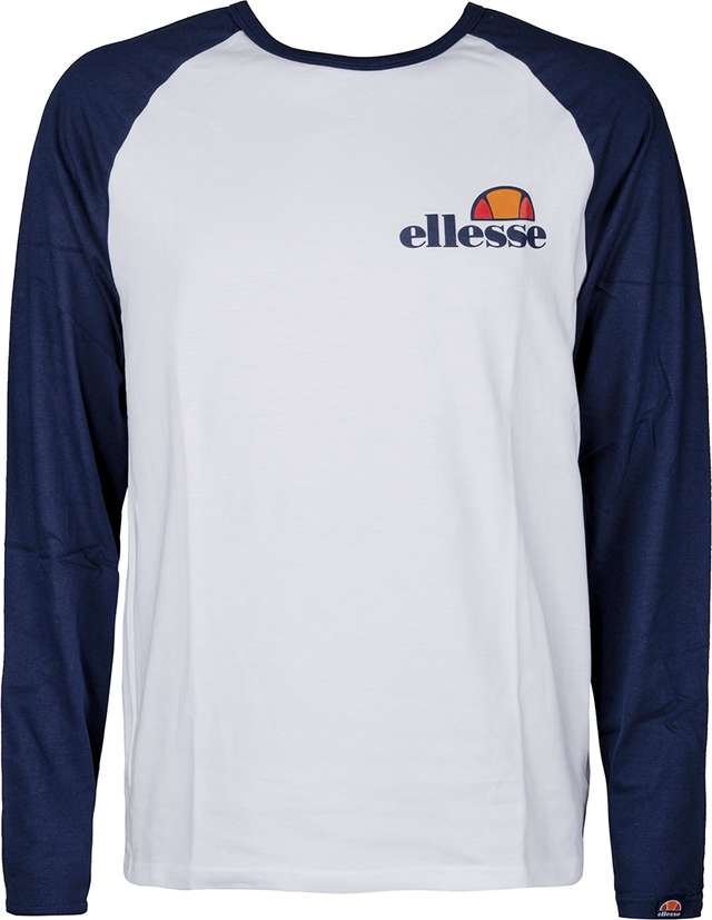 Ellesse THERO LS T-SHIRT OPTIC WHITE/DRESS BLUES SHY05235