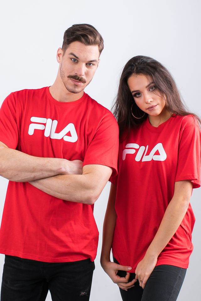 Fila PURE SHORT SLEEVE SHIRT 006 TRUE RED 681093-006