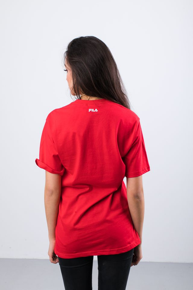 Koszulka Fila  <br/><small>PURE SHORT SLEEVE SHIRT 006 TRUE RED </small>  681093-006