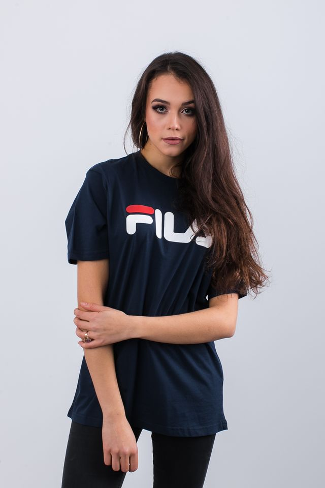 Fila PURE SHORT SLEEVE SHIRT 170 BLACK IRIS 681093-170