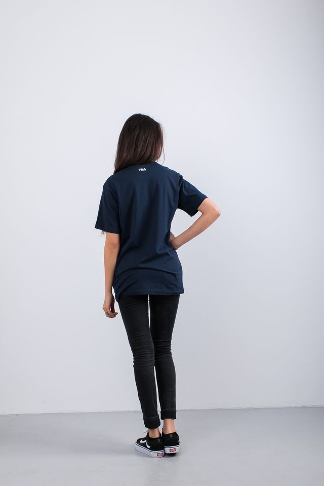 Koszulka Fila  <br/><small>PURE SHORT SLEEVE SHIRT 170 BLACK IRIS </small>  681093-170