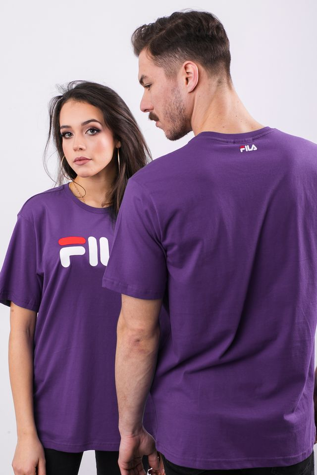 Fila PURE SHORT SLEEVE SHIRT A033 TILLANDSIA PURPLE 681093-A033