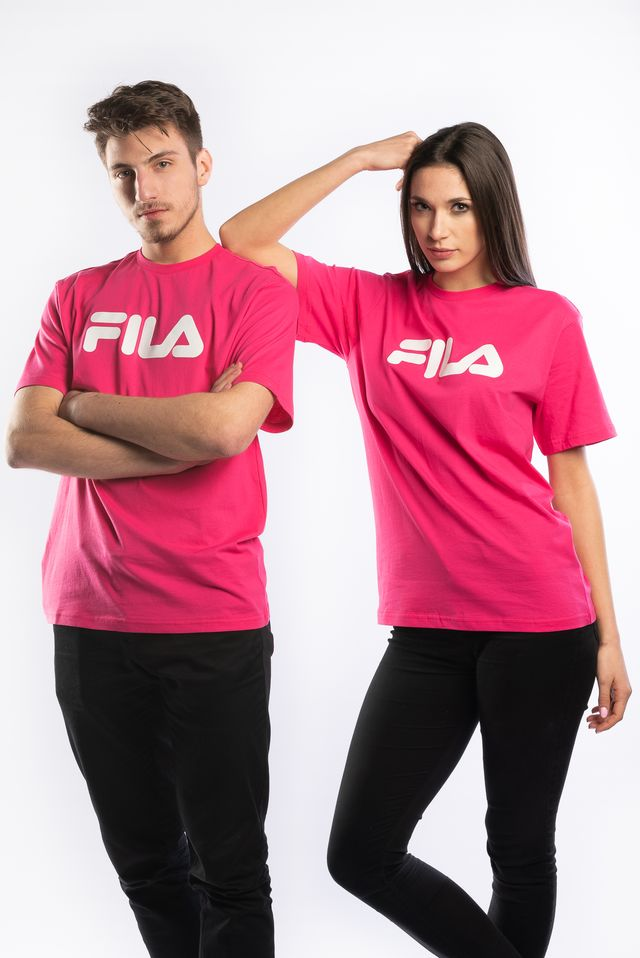 Fila PURE SHORT SLEEVE SHIRT A163 PINK YARROW 681093-A163