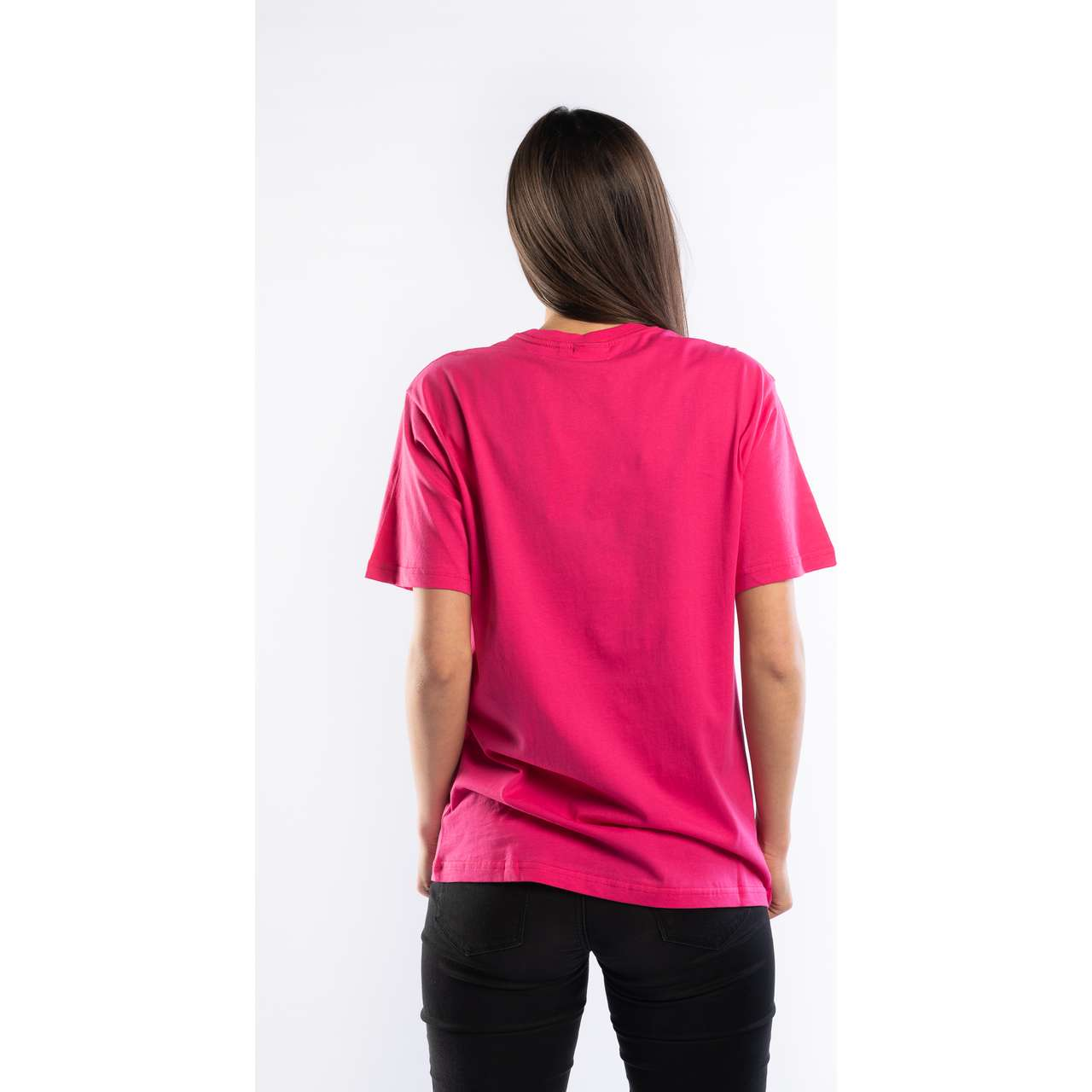 Koszulka Fila  <br/><small>PURE SHORT SLEEVE SHIRT A163 PINK YARROW </small>  681093-A163