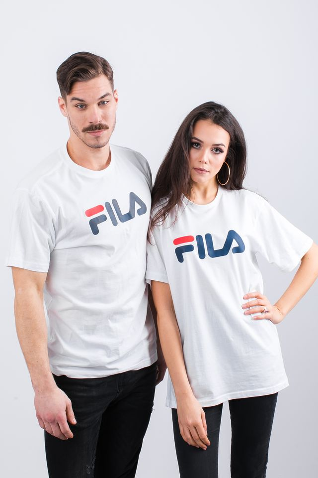 Fila PURE SHORT SLEEVE SHIRT M67 BRIGHT WHITE 681093-M67