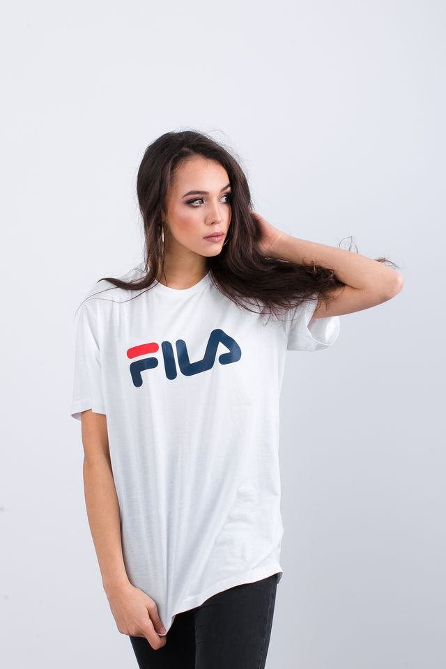 Koszulka Fila  <br/><small>PURE SHORT SLEEVE SHIRT M67 BRIGHT WHITE </small>  681093-M67