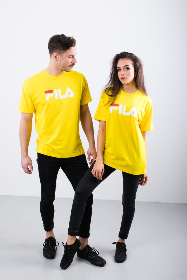 Fila PURE SHORT SLEEVE SHIRT V51 EMPIRE YELLOW 681093-V51