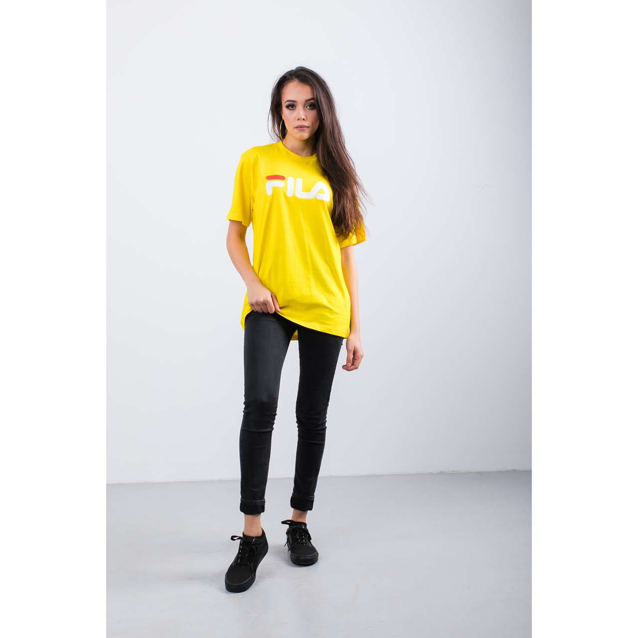Koszulka Fila  <br/><small>PURE SHORT SLEEVE SHIRT V51 EMPIRE YELLOW </small>  681093-V51