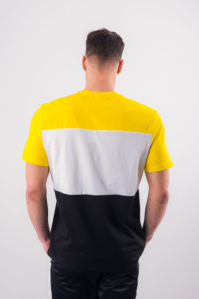 Koszulka Fila  <br/><small>MEN DAY TEE A063 BLACK/EMPIRE YELLOW/BRIGHT WHITE </small>  681244-A063