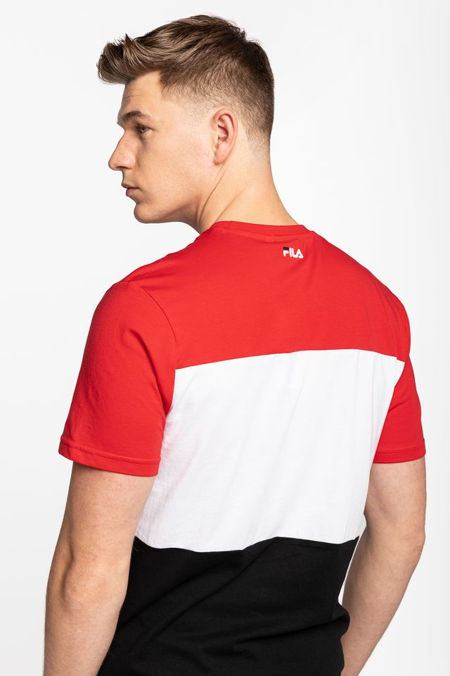 Koszulka Fila  <br/><small>DAY TEE A089 TRUE RED/BLACK/BRIGHT WHITE </small>  681244-A089