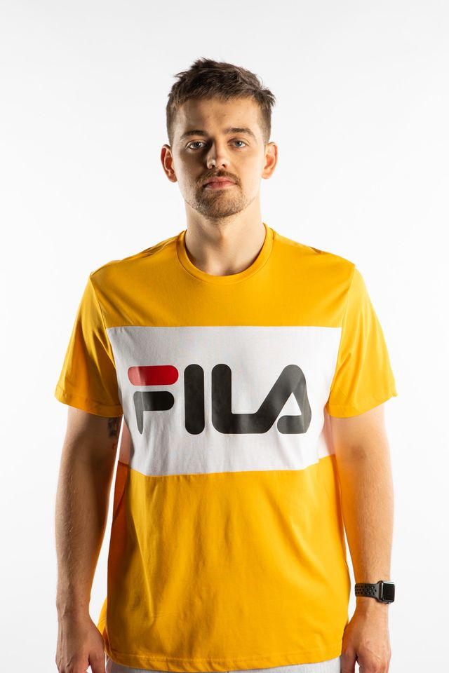 Fila DAY TEE A218 CITRUS/BRIGHT WHITE 681244-A218