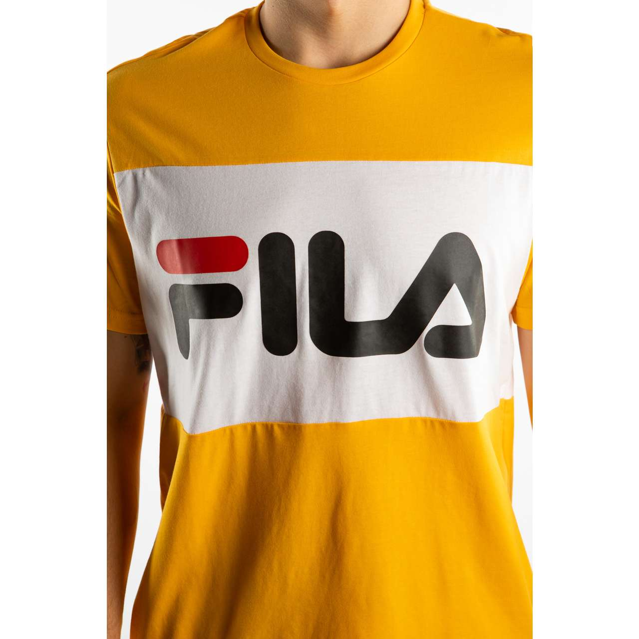 Koszulka Fila  <br/><small>DAY TEE A218 CITRUS/BRIGHT WHITE </small>  681244-A218