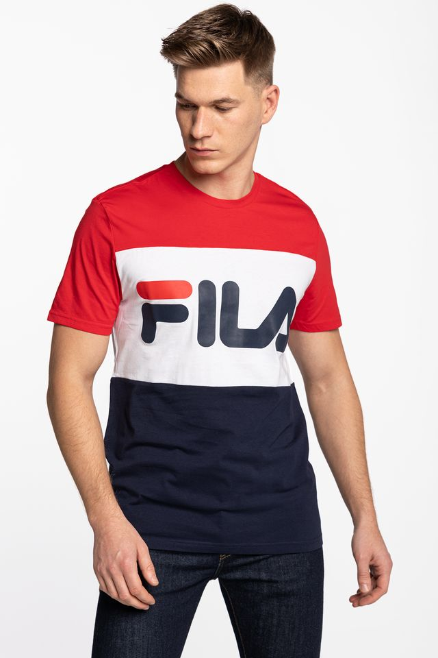 Fila MEN DAY TEE G06 BLACK IRIS/TRUE RED/BRIGHT WHITE 681244-G06