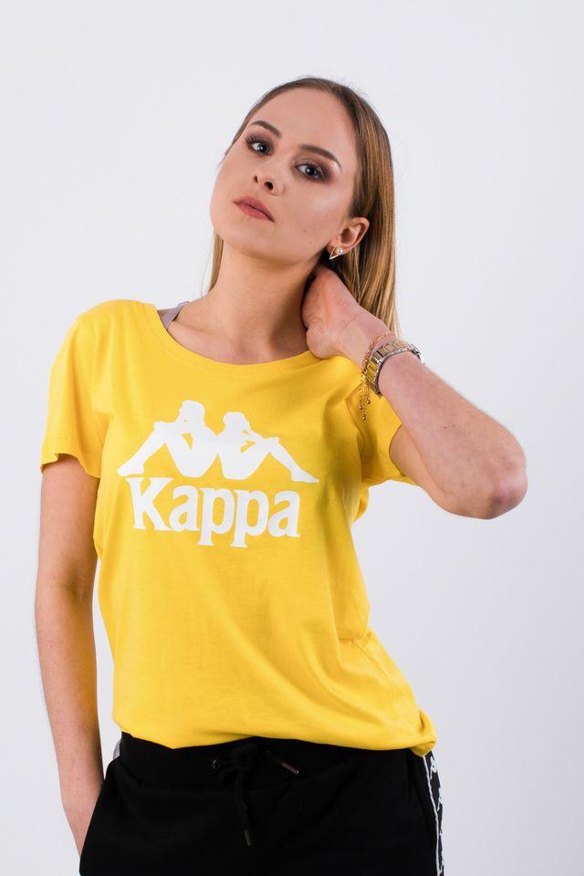 Kappa EDDA T-SHIRT 207 ASPEN GOLD 305026-207